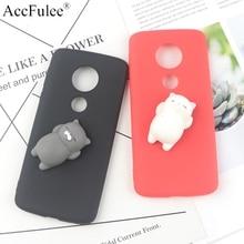 Cute Toys Squishy Case For Moto E5 Funny Cat Cases For Motorola Moto E5 E 5