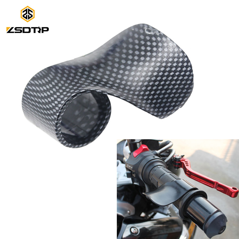 ZSDTRP Tuning Parts Motorcycle Handlebar Throttle Control Hand Sets Supplies Long-distance Accelerator Booster Handle Cover