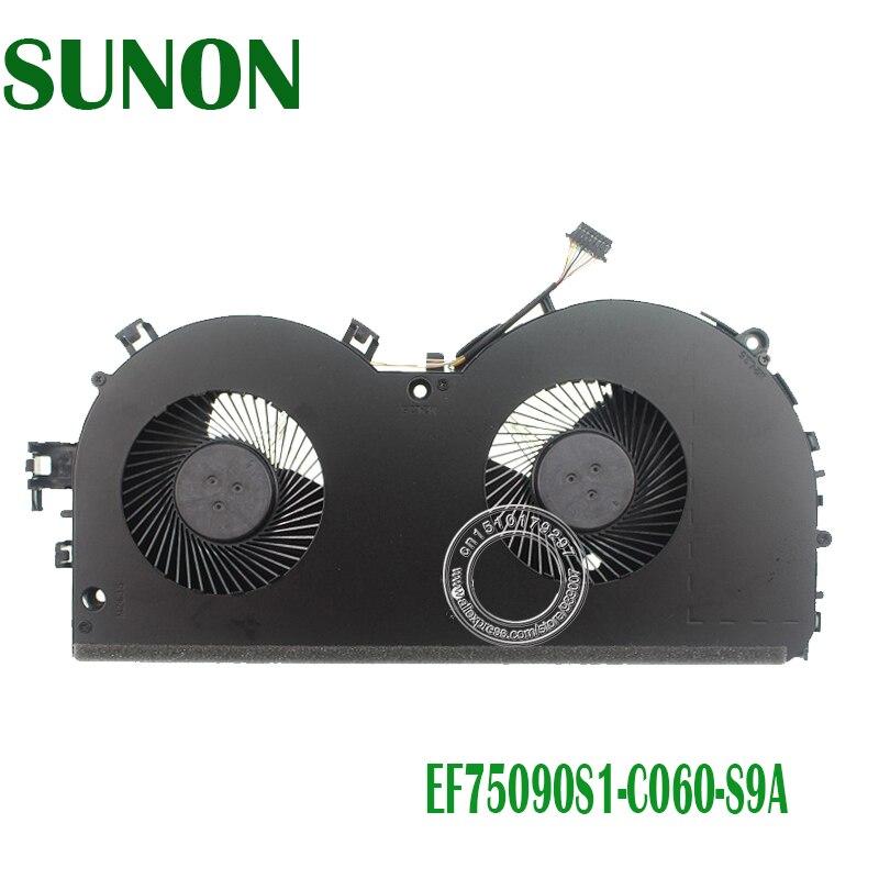 NEW ORIGINAL CPU COOLING FAN FOR LENOVO Rescuer Y520 R720 R720-15IKB CPU FAN COOLER DFS551205WQ0T EF75090S1-C060-S9A