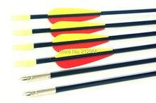 Longbowmaker 12PCS 33 Inches Fiberglass Target Practice Arrows F2YRT1