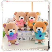 Teddy bear gyerekek baba játékok mamas papas koala baba kawaii plüss mi meztelen medvék spongebob mini mackó kitömött állatok születésnapi ajándék