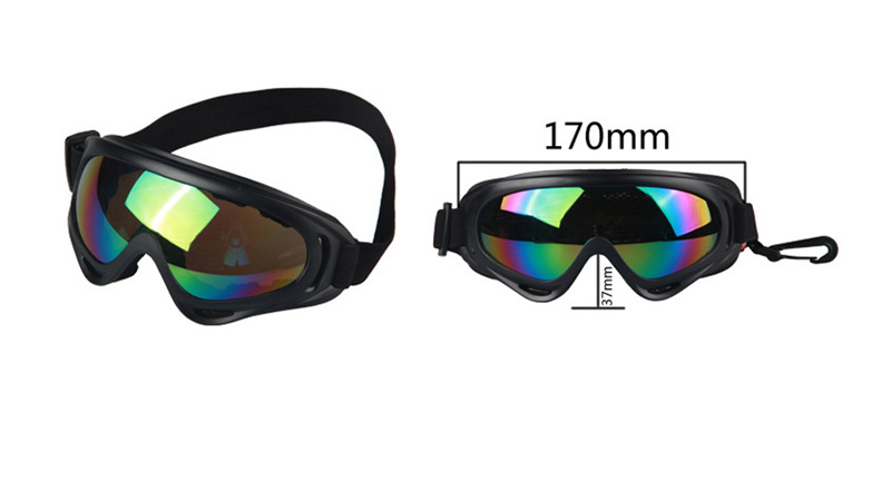 OBAOLAY X400 Professional Motorcycle Goggles Tactical Glasses Cycling Glasses Eyewear Cycling Skiing Outdoor Sports Equipment 12