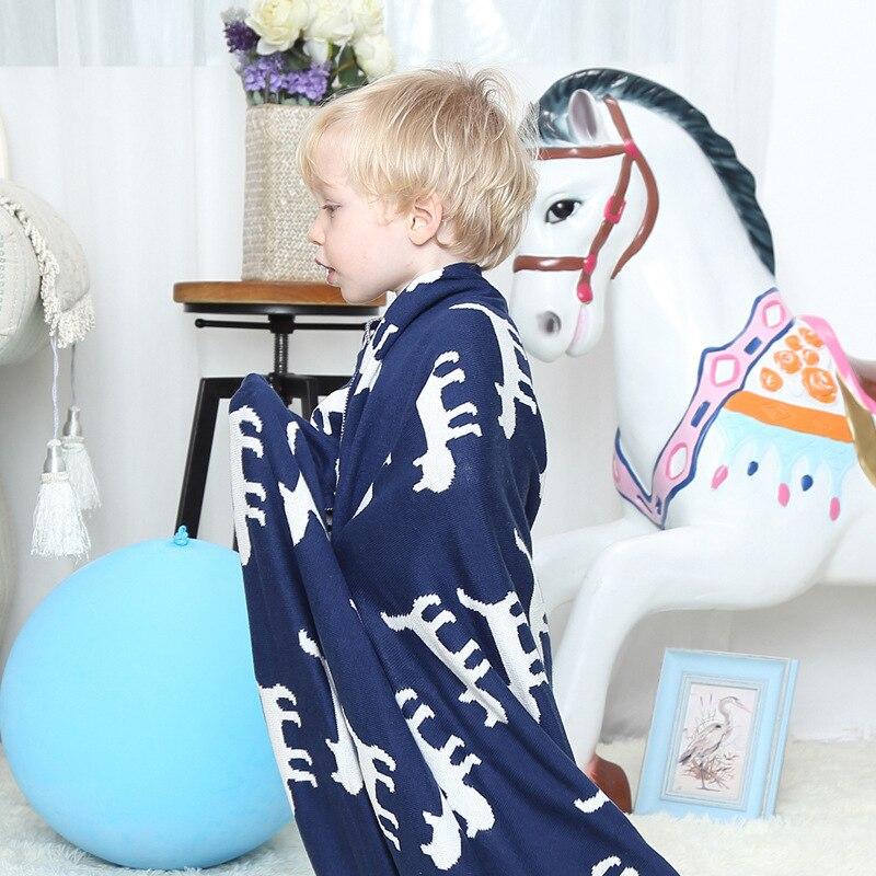 Stricken Häkeln Kinderwagen Decken Katze Muster Baby Baumwolle ...