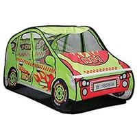 Zewik Kid Tent Play Tent Children Cartoon Car Canopy Kids Pop Up Play Tent Sports Car