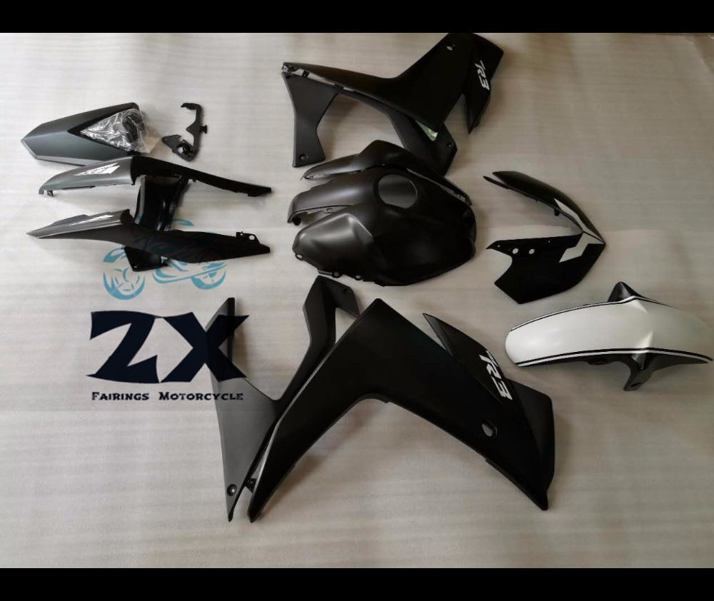 Complete Fairings For Yamaha R25 R3 2015 2016 2014 ABS Plastic Kit Injection Motorcycle Fairing matte black 2014 2015 2016 yzf r3 r25 abs injection fairing kit for yamaha yzfr3 yzfr25 pearl white complete fairings body kit cowling
