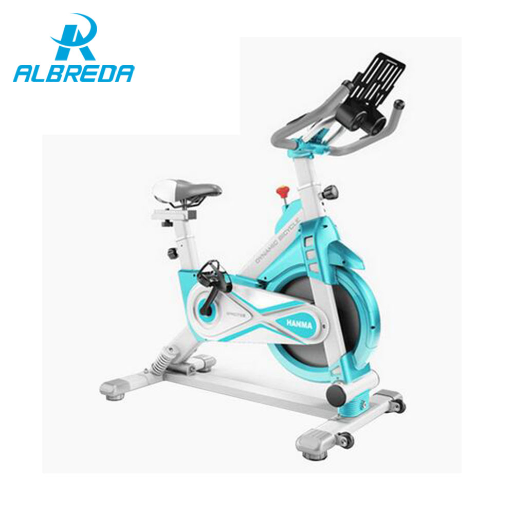 ALBREDA Dynamic sense of bicycle / ultra-quiet home gym fitness equipment / indoor sports exercise bike / home exercise bike цена