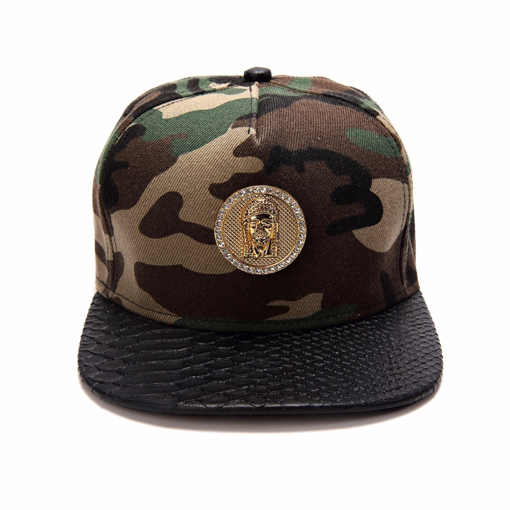 Jesus Camouflage Baseball Cap Hip Hop Jesus Snapback Hat Adjustable Mens  Cotton Casual Unisex Cotton Hats -in Baseball Caps from Men's Clothing ...