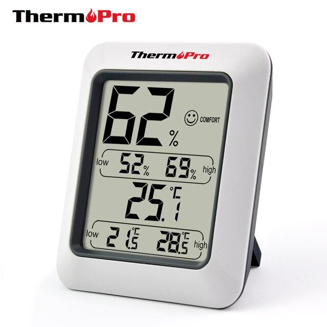 Thermopro TP50 Stazione Meteo A CRISTALLI LIQUIDI Igrometro Termometro Digitale