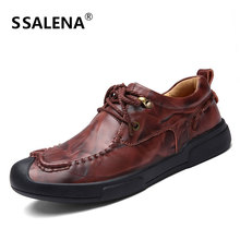 High Quality Men Flats Casual Leather Dress Shoes Men Oxford Fashion Lace Up Dress Shoes Wedding Formal Work Loafers AA10168