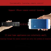 8 Pin Universal Air Conditioner/TV/DVD/STB IR Remote Control For iPhone X XR XS 5 6 7 8 ipad