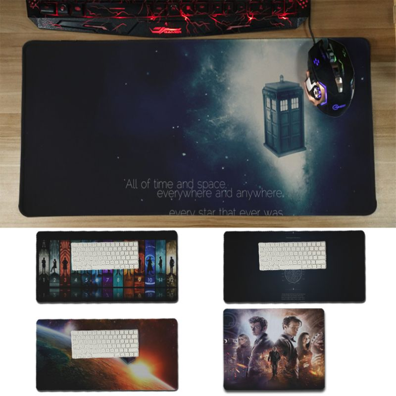 Yinuoda Custom Skin Dr who gamer play mats Mousepad Size for 18x22cm 20x25cm 25x29cm 30x60cm game mouse pad