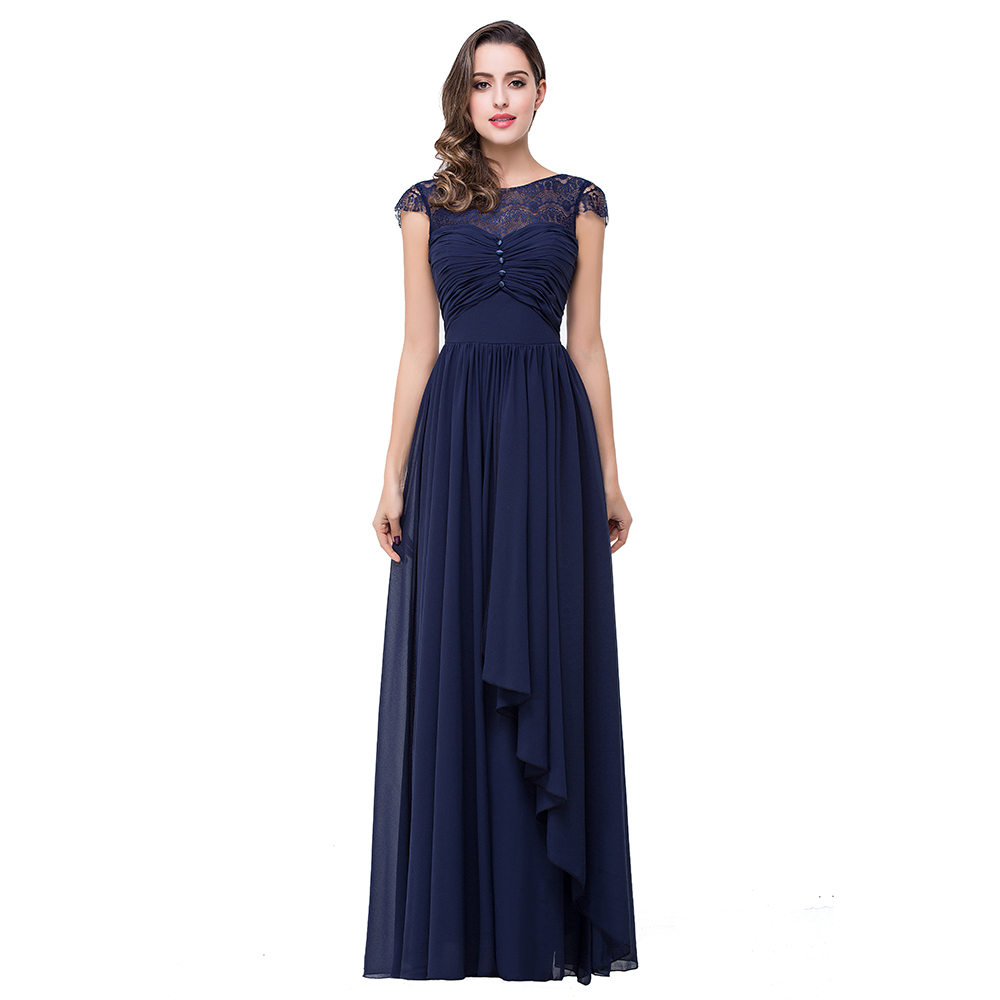 Compare Prices on Bridesmaid Dresses Navy Blue Chiffon- Online ...