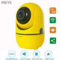 IMIEYE Mini 720P Wireless Radio Babysitter Digital Video Camera CCTV Surveillance WIFI Baby Sleeping Monitor Night