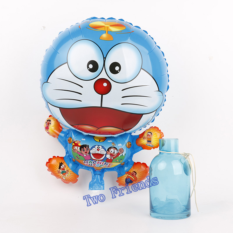 1pc Cute giant Doraemon foil balloons doraemon cat balloon animals inflatable air balloons for party supplies kids