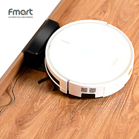 Fmart FM R570 Robot Vacuum Cleaner Anticollision Antifall Self Charge Auto Cleaning Aspirator Tempered Glass App