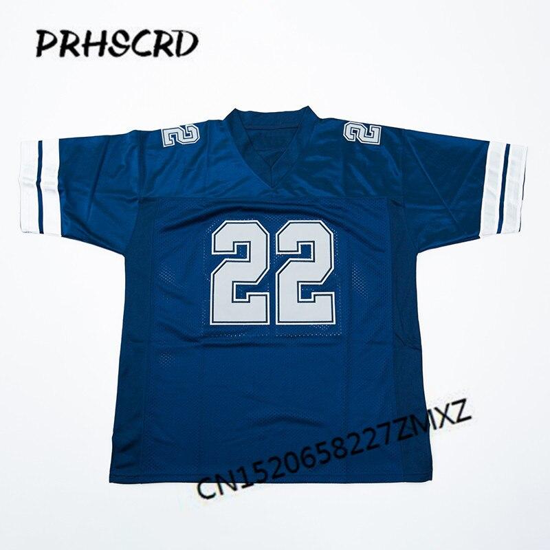 Retro star #22 Emmitt Smith Embroidered Throwback Football JerseyRetro star #22 Emmitt Smith Embroidered Throwback Football Jersey