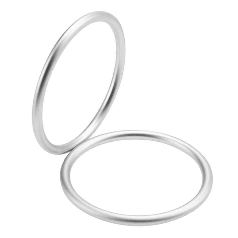 2 unids/lote, anillos de Honda para bebé, anillo ajustable de aluminio de alta calidad, accesorios para portabebés, recién llegado para mamá, recién nacido