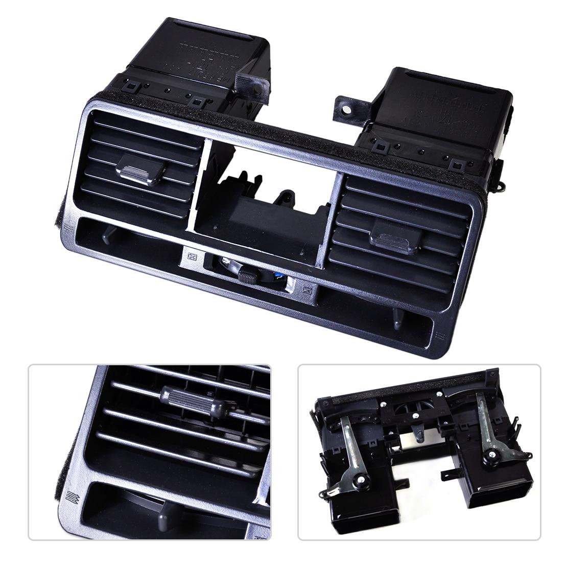 新しいブラックダッシュボードエアベントアウトレットパネルMR308038 MB775266三菱パジェロに適合ショーグンモンテロV31 V32 V33 1998 1999三菱パジェロ