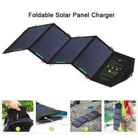 Dual USB Portable Solar Panel Charger 5V 2 4A Max Output Solar Power Charger For IPhone