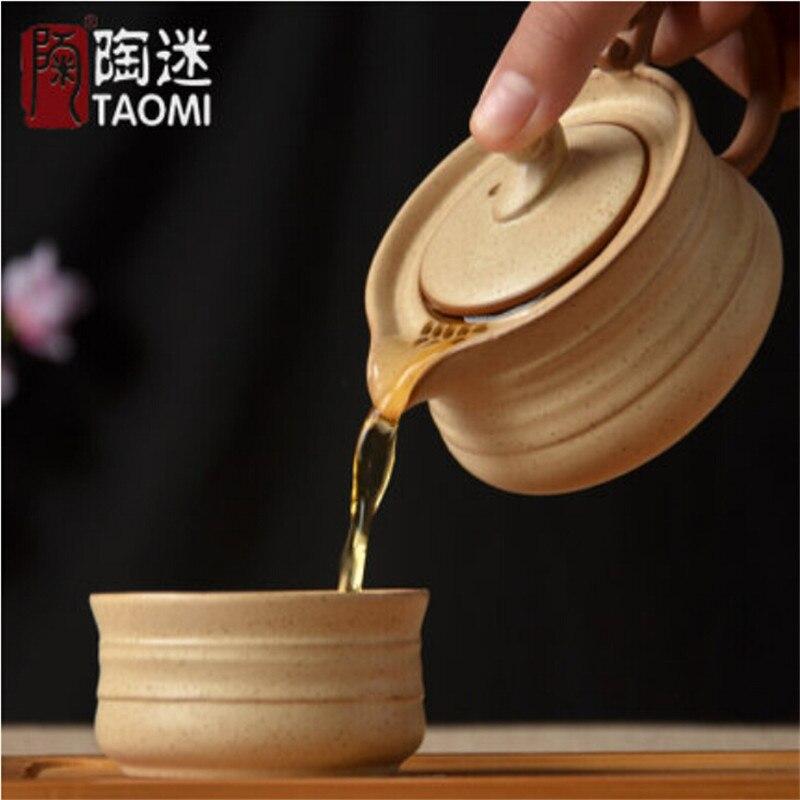 японский керамический чайник