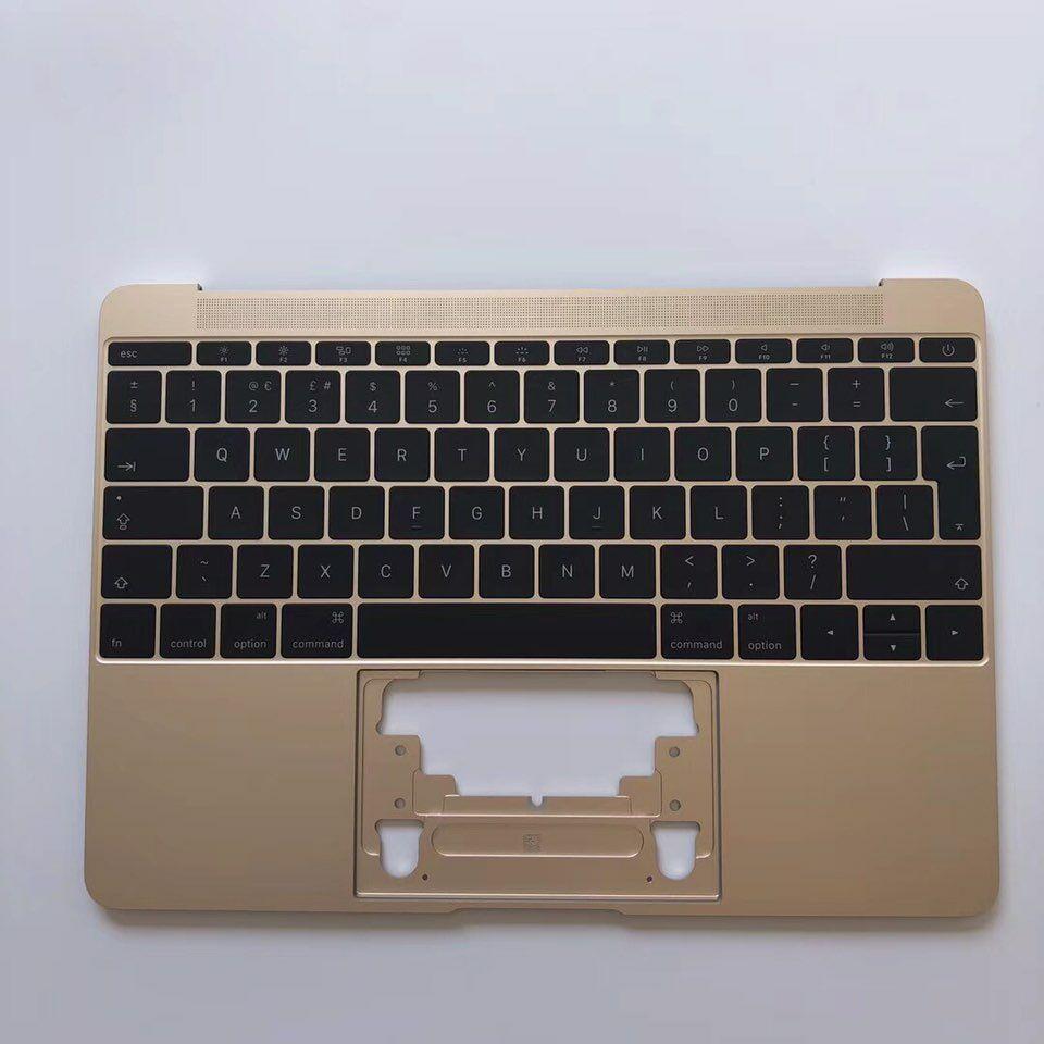 """מקורי A1534 A1502 A1398 החלפת מקלדת עבור Macbook Pro רשתית 12 """"13"""" 15 """"Topcase 99% חדש אמיתי למעלה קייס Palmrest ארה""""ב"""