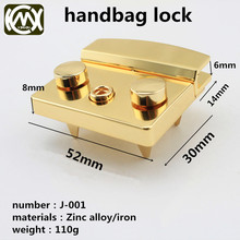 High-grade hardware accessories bag lock Zinc alloy material Universal No logo 2pcs/lot