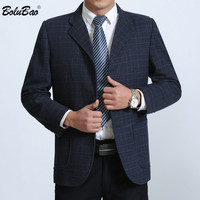 BOLUBAO Men Spring Autumn Suit Blazers 2019 New Men's Solid color Casual Slim Fit Blazers Male Fashion Brand Suit Blazers