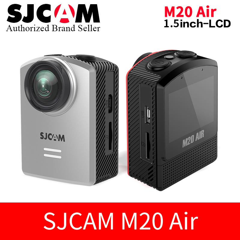 2018 New ~ SJCAM Action Camera M20 AIR WiFi 1080P HD 30M Waterproof Housing Extreme Sports DV 1.5 inch LCD mini Camcorder SJ Cam