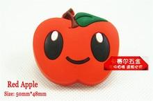 Children Room Cabinet Handles Red Apple Handle Childrenu0027s Cartoon Handle  Knob Shoe Knobs Cupboard Door Handle