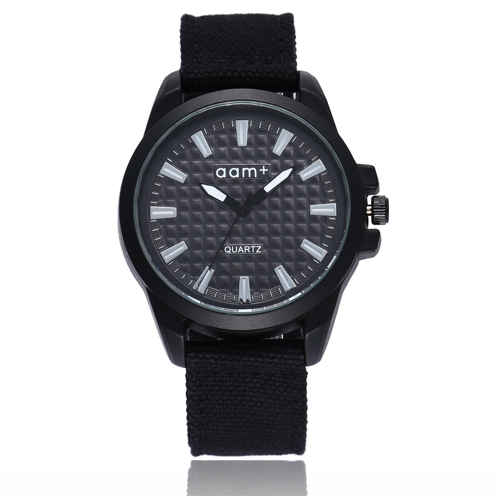 New Famous Brand Men Watch Army Soldier Military Canvas Strap Fabric Analog Quartz Wrist Watches Outdoor Sport Wristwatches Saat
