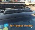 Techo Solar coche lluvia deflectores tiempo gruard shdows escudos para Toyota Tundra accesorios de Acrílico