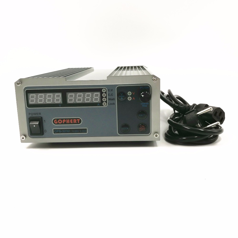 CPS-3232 1000W 0-32V/0-32A,High power Digital Adjustable Laboratory DC Power Supply 220V