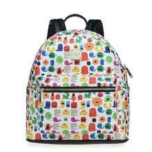 Элегантный дизайн Mochila Escolar Высокое качество горячей продажи женщин SAC DOS брендовые школьные рюкзаки известный дизайнер
