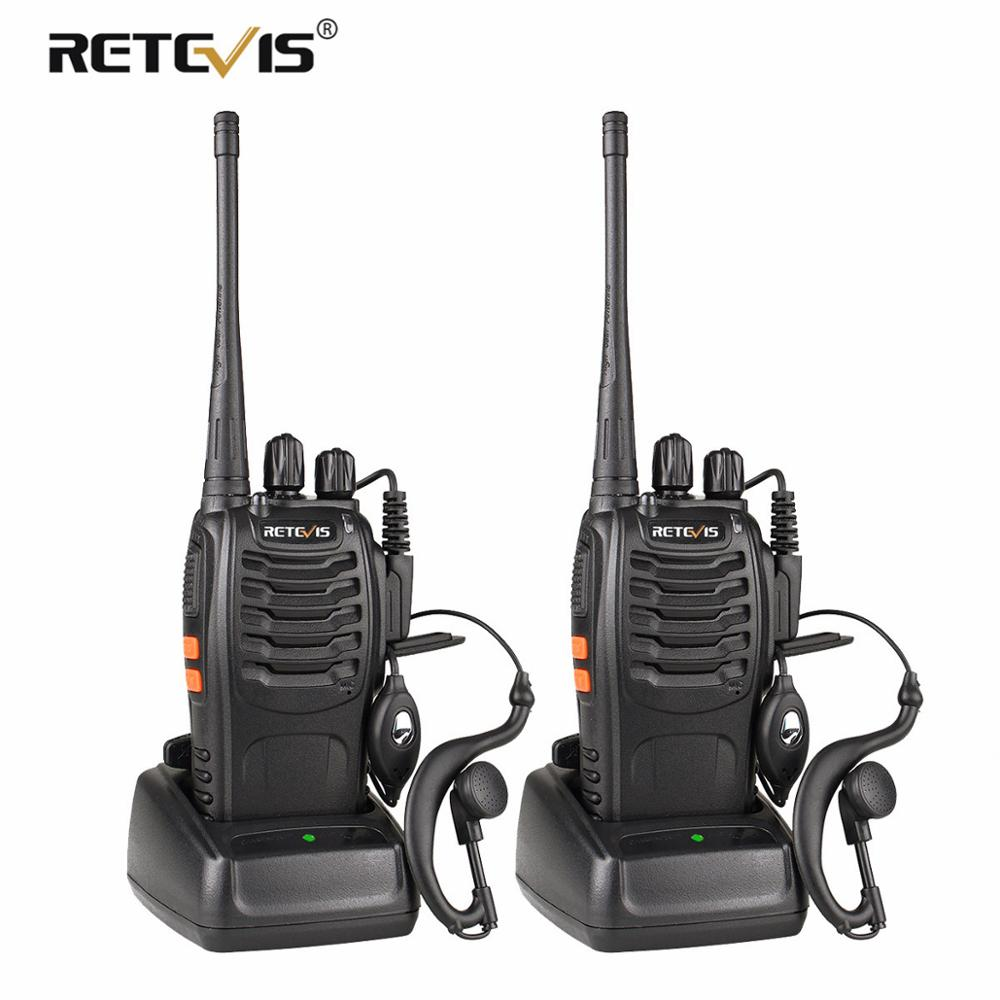 2 st Retevis H777 Portabel Walkie Talkie 16CH UHF 400-470MHz - Walkie talkie - Foto 1