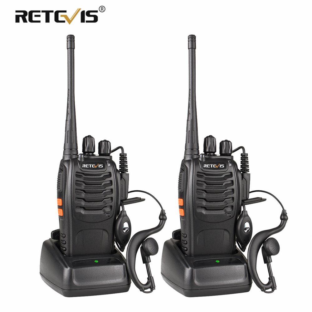 2 τεμάχια Retevis H777 φορητό Walkie Talkie 16CH UHF - Φορητό ραδιοτηλέφωνο