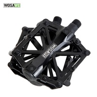 WOSAWE Bicycle Pedal Cycling Pedals Light Outdoor Sports Pedals Road Mountain Bike Pedals Cycling Bike Parts