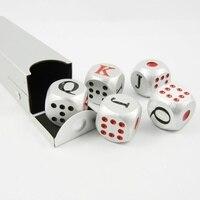 الأسبانية النرد لعبة البوكر حالة الألومنيوم المعدنية محفورة j kq الميلاد هدية تذكارية