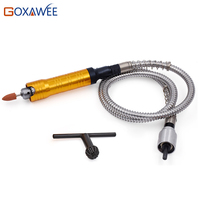 FREE SHIPPING Dremel Electric Rotary Tool EU Plug Mini Dremel Drill With Flexible Shaft And 140pcs