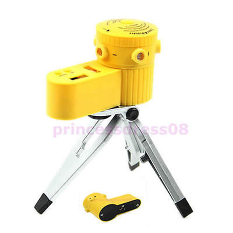 New LV-06 Multi-function Portable Laser Leveler with Tripod Horizontal Line Tool