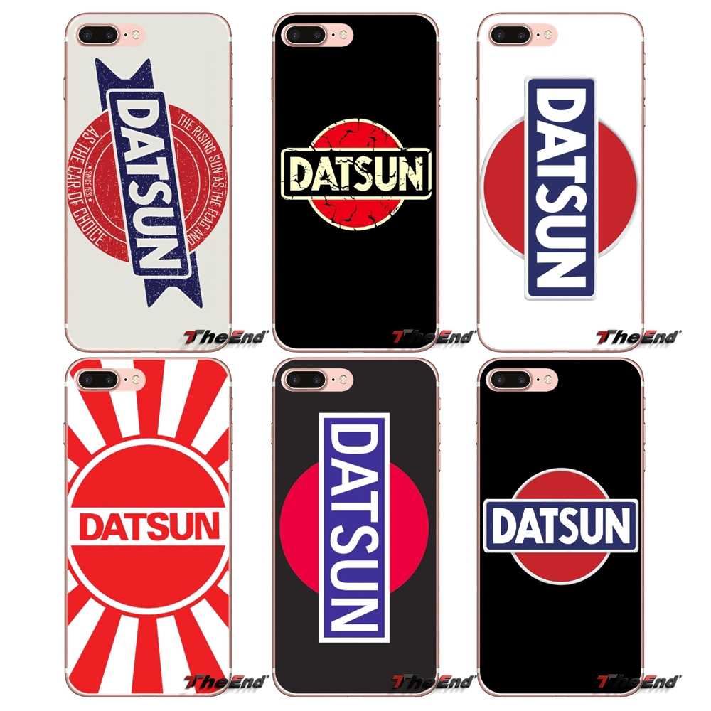 US $0 99 |Datsun Logo Vector NISSAN For Sony Xperia Z Z1 Z2 Z3 Z5 compact  M2 M4 M5 E3 T3 XA Aqua LG G4 G5 G3 G2 Mini Capa Soft Shell Cases-in