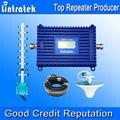 3G Repetidor Lintratek 2100 UMTS Mobile Display LCD Amplificador de Ganho de Sinal De Reforço Repetidor 70dB 2100 MHz Repetidor Yagi Antenna Kit 3G S38