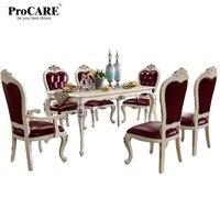 Роскошный европейский и американский стиль мебель королевской серии обеденный стол 8015 8015