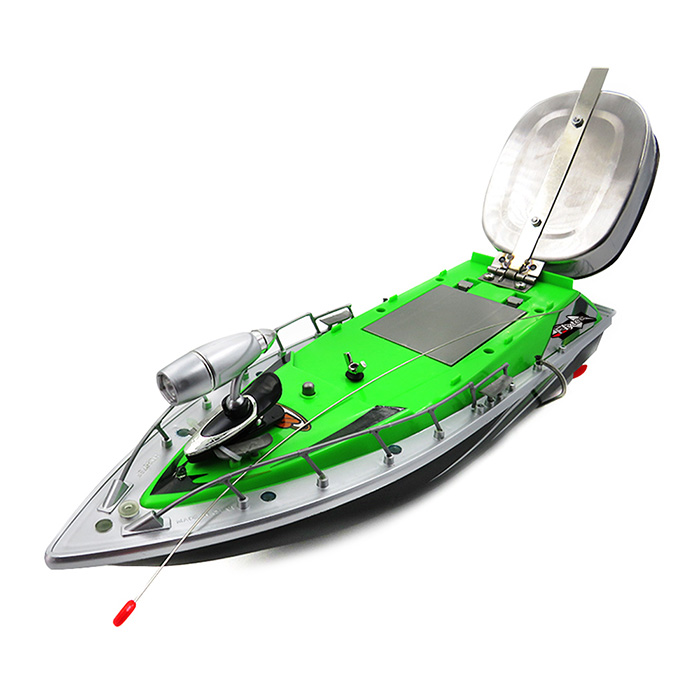 New Flytec 2011-3 RC Boat Intelligent Wireless Electric RC Fishing Bait Boat Remote Control Fish Finder Ship Searchlight RC Toys new original brand flytec 2011 9 rc boats high speed remote control boat 2 4ghz wireless remote control toys gift for child kids