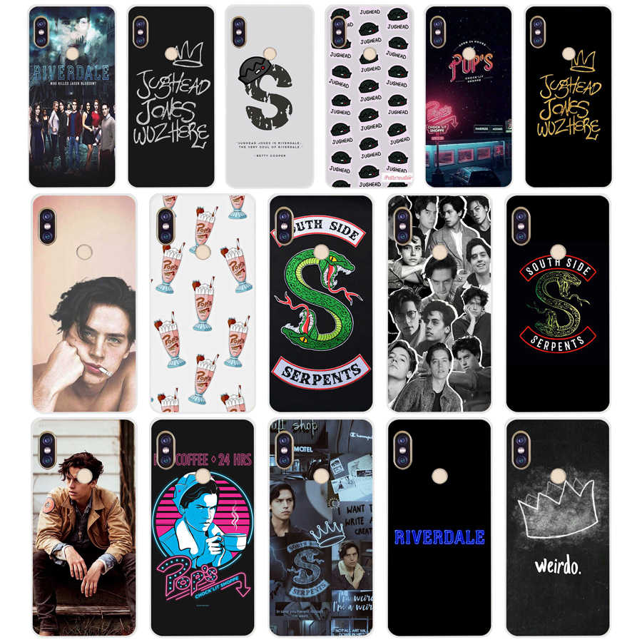 05 ZX American TV Riverdale cell TPU Soft Silicone Phone Case for Xiaomi Redmi Note 4 4X 5 7 6 pro plus a2 lite Cover