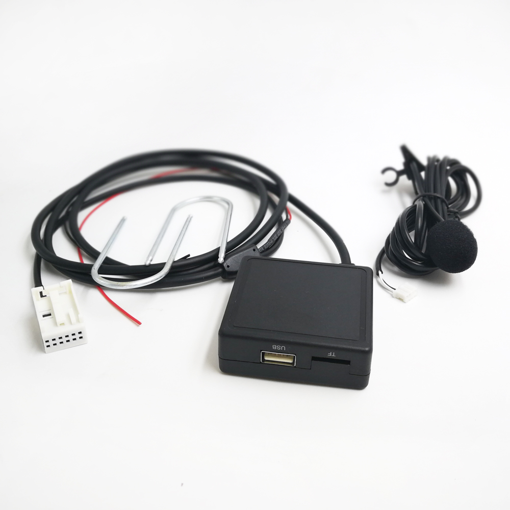 Biurlink RD4 Hands-free Phone Call Wireless Bluetooth AUX <font><b>USB</b></font> Audio Adapter for <font><b>Peugeot</b></font> C2 C4 <font><b>307</b></font> 308 RD4 <font><b>Radio</b></font> image