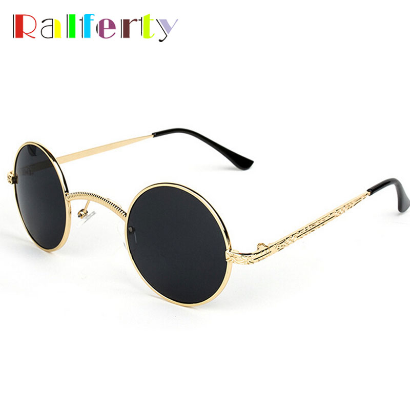 Gothic Vintage Sunglasses Unisex, Classic Steampunk Adjustable Round Glasses For Sun Women Men, Hipster Party Sun Glasses Oculos