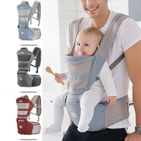luxury 9 in 1 hipseat ergonomic baby carrier 360 mochila portabebe baby sling backpack Kangaroos children wrap chicco infantil