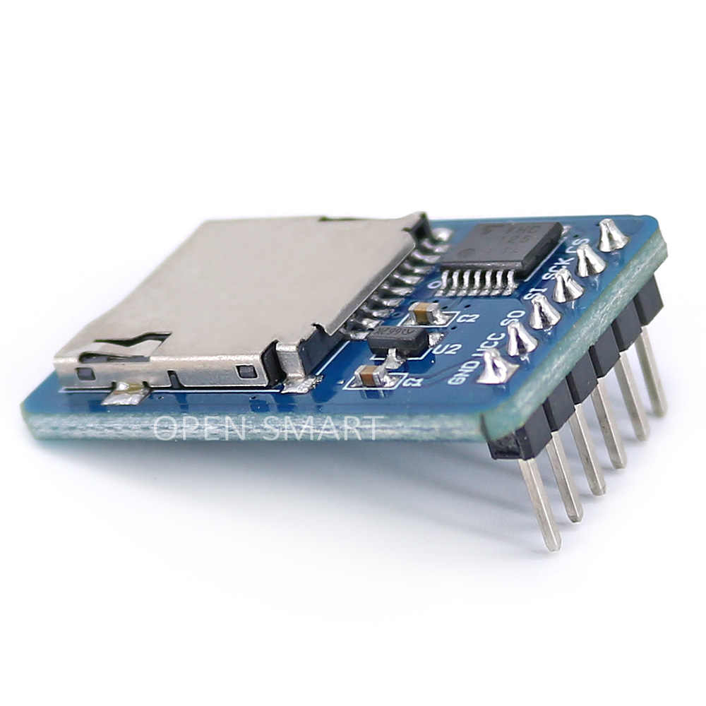 Micro SD Card Module TF Card Reader for Arduino / RPi / AVR SPI Interface  3 3V / 5V Compatible