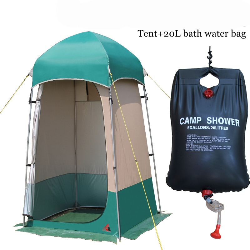 VANQUISHER High quality outdoor strong shower tent toilet dressing changing room tent Outdoor movable WC fishing