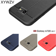 For Phone Case Samsung Galaxy A7 2017 A720 Luxury Rubber Cases for Cover Shell